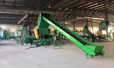 high quality crushing and cleaning production line