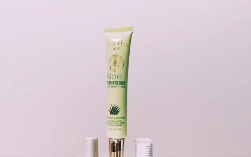 Anti-aging cream tube