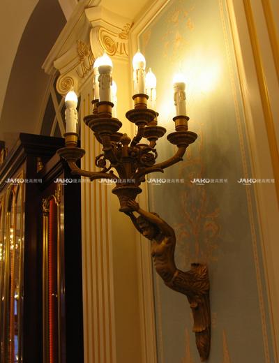 Đèn tường phong cách châu Âu tùy chỉnh trong tianjing Ritz-carlton