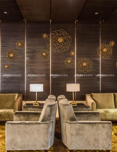 Có thể tùy chỉnh đèn bàn khu vực khách sạn Thượng Hải
