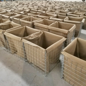 Military Hesco Barrier Wall
