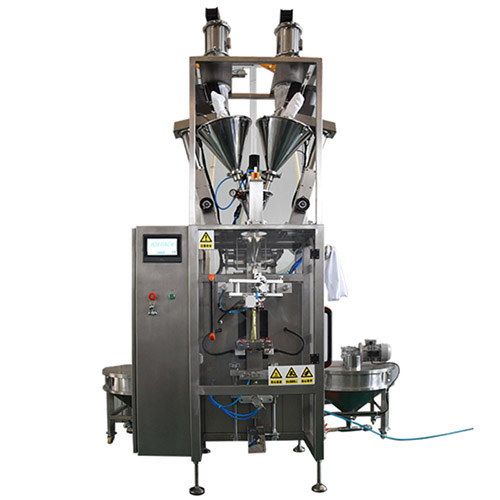 Single row powder back sealing machine
