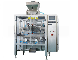 Stickpack machine for free flowing granules
