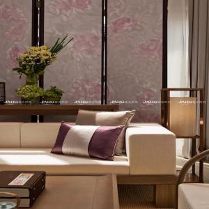 Qingdao Narada Hotel acrylic shade floor lamp