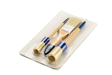 3PCS Paint Brush Set 50mm Flat Brush