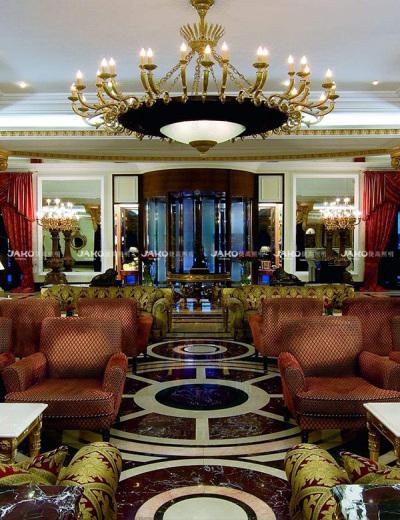 Đèn chùm kim loại Ritz-carlton tianjing Europen
