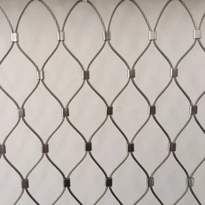 Zoo Mesh In Stainless Steel Rope Animal Enclosure Rope Mesh X-tend Cable Mesh