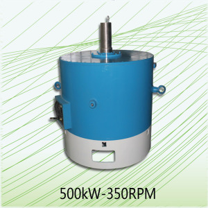 Wind Turbine Noise 500kW-350RPM