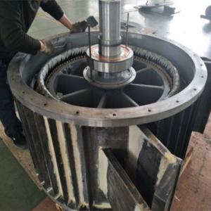 Volute Axial Flow Permanent Magnet Generator