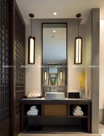 Thanh Đảo Narada khách sạn nhà vệ sinh gương đèn
