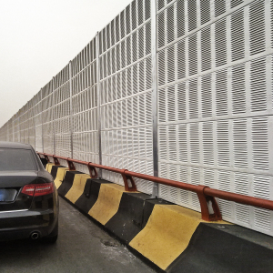Noise Barrier In Highway