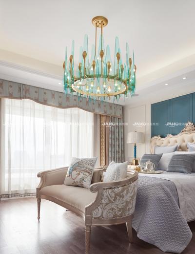 Đèn chùm phòng ngủ Wuyue hiện đại