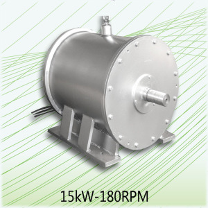 Neodymium Magnet Generator 15kW-180RPM