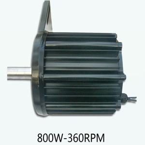 Synchronous Permanent Magnet Generator 800W-360RPM