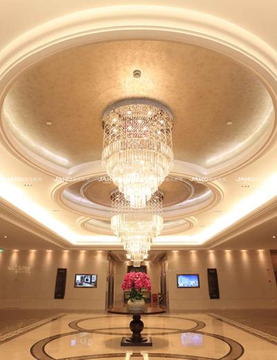 Đèn chùm trang trí khách sạn thường niên Thượng Hải