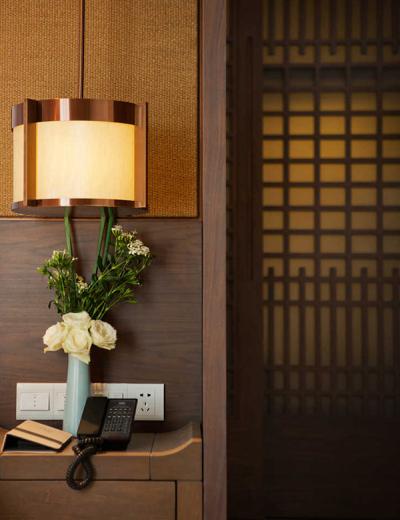 Thanh Đảo Narada Hotel ánh sáng bên vòng kim loại có thể được tùy chỉnh