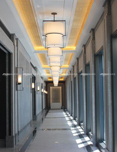 Đèn hành lang bằng đá cẩm thạch hiện đại