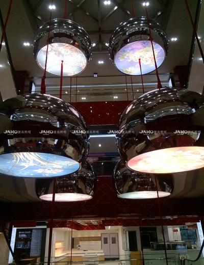 Sảnh trong khu vực đèn chùm công cộng của cửa hàng bách hóa số 1 Thượng Hải