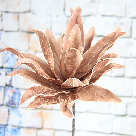 81Cm Artificial Decorative Printed Foam Flower Echeveria