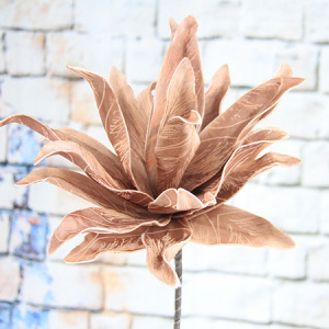 81Cm Artificial Decorative Printed Foam Flower Echeveria