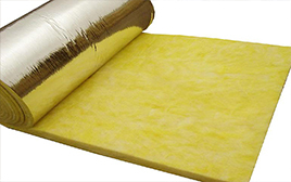 Quality Most Popular Aluminum foil glass wool felt