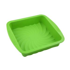 Silicone square cake pan