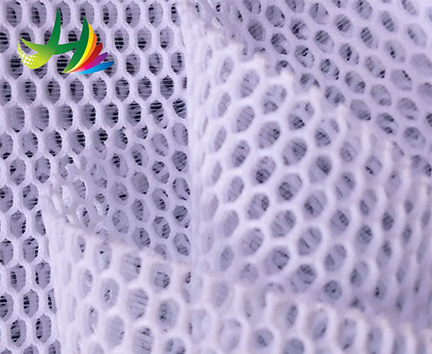 China Wholesale 100 percent Polyester 3D Cheap Mesh Fabric For Mat