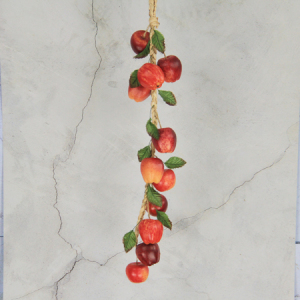 57Cm Artificial Simulation Decorative Fruits String Apple Mixed Color