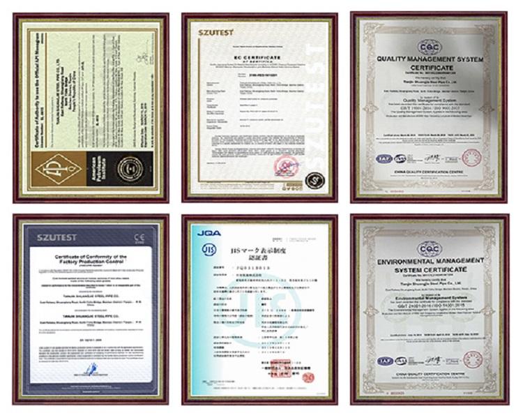 Zertifizierungsstatus