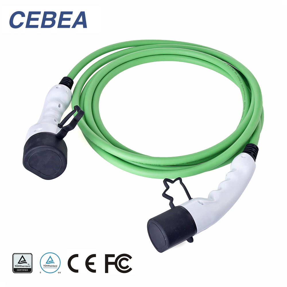 32A Three-phase  Type 2 to Type 2 EV charging cable