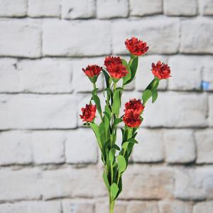 46cm Artificial/Decorative Wild Flower Carnation