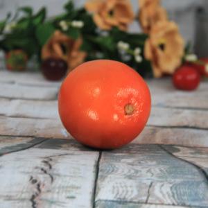 7.5X7Cm Artificial/Decorative Simulation Fruits Medium Round Orange