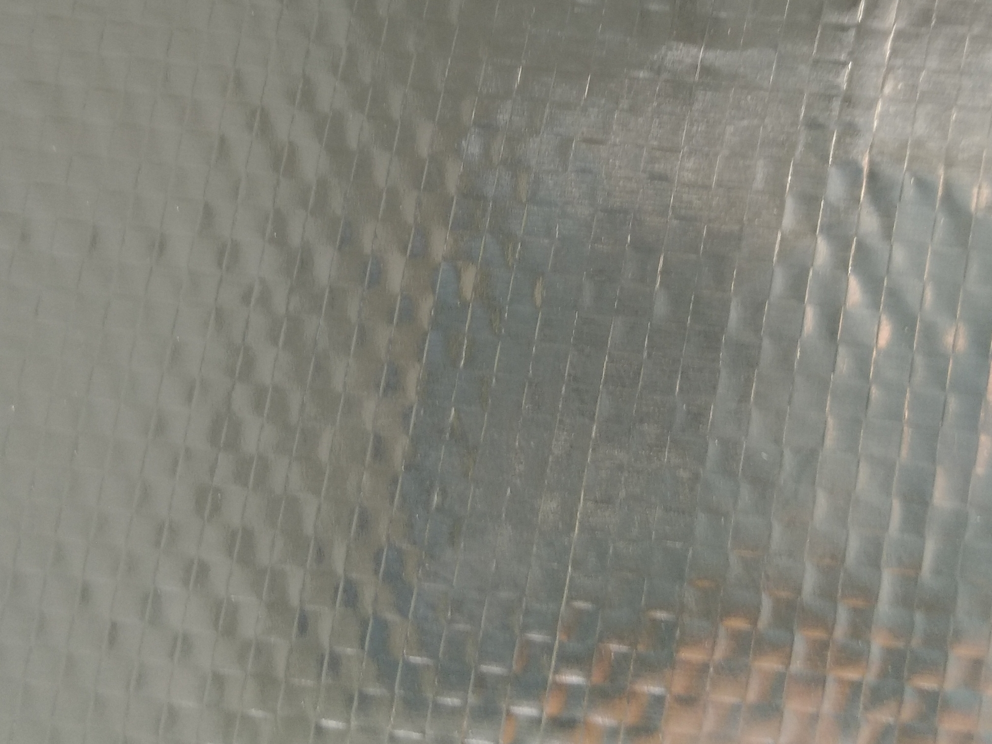 Double side aluminum foil woven