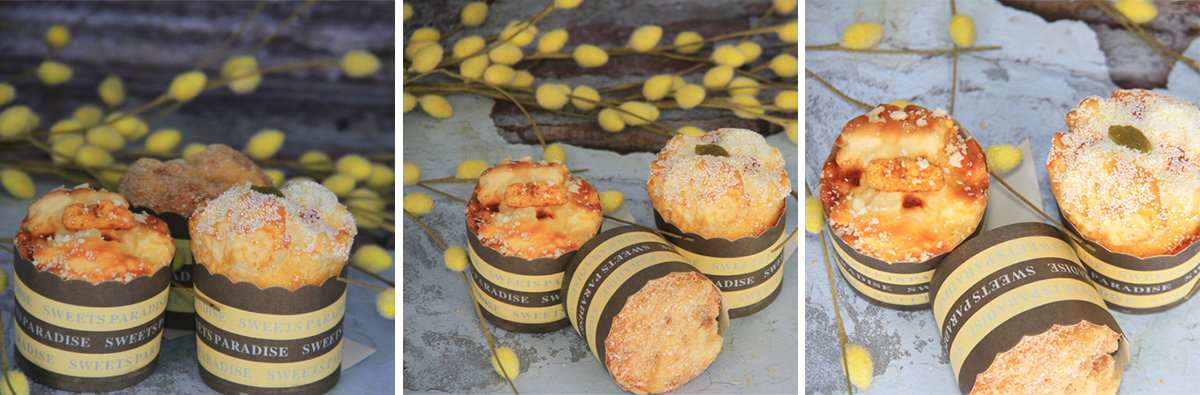 Artificial Decorative Simulation Bread Cupcake Sets