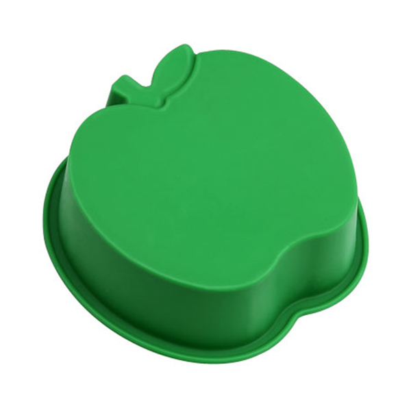 Apple shaped silicone mold