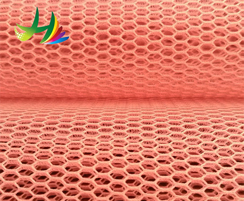 Factory direct sales Warp knitting 100% polyester fabric 3D air spacer mesh