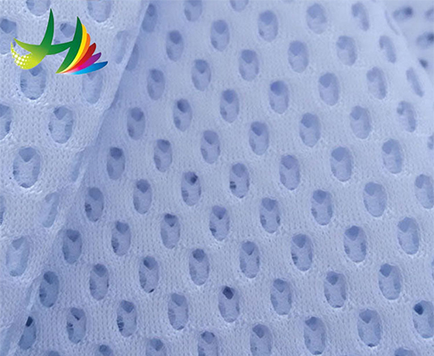 custom breathable polyester air mesh sports shoes fabric