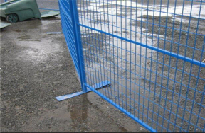 Welding net temporary fence