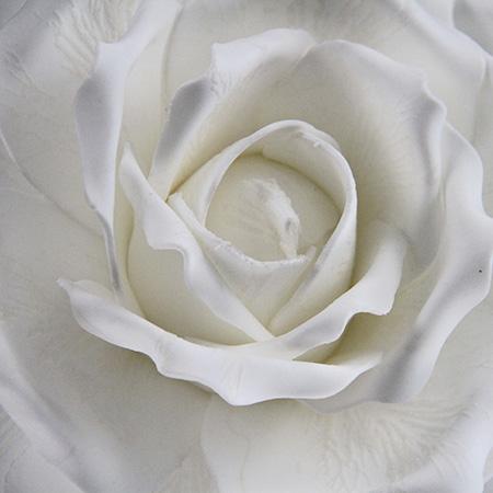 65Cm Artificial Decorative Printed Foam Flower Big Rose Single
