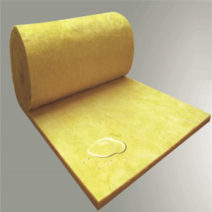Aluminum foil glass wool felt