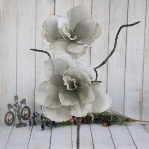 95Cm Artificial Decorative Ramie Flower  With Foam Edge