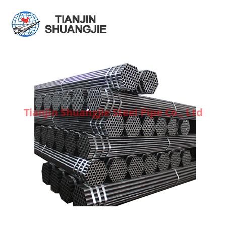 EN10219ERW black carbon steel pipe