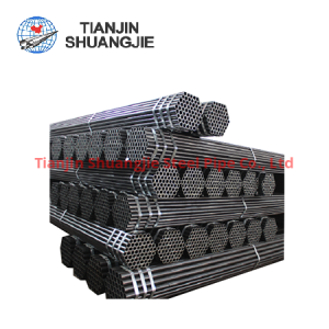 EN10219ERW black carbon steel pipe