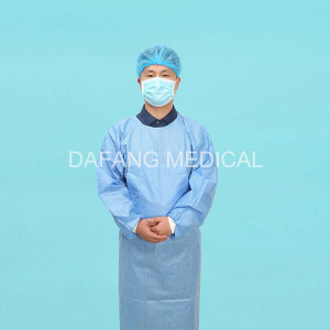 Disposable Medical Sterilized Surgical Gown