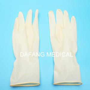 Disposable Medical Rubber Inspection Gloves