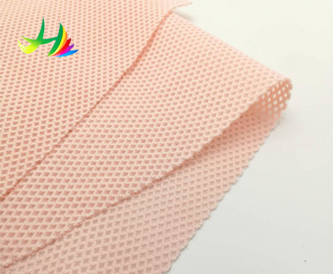 Upholstery Knitting Honeycomb 3d 100 Polyester Mesh Fabric
