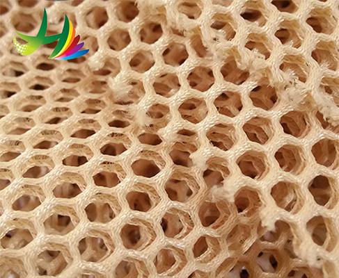 factory sale home textile high quality transparent 3d air mesh fabric