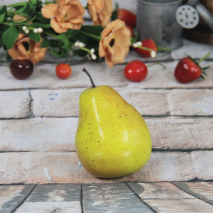 9.4 X7.5Cm Artificial/Decorative Simulation Fruits Green Pear