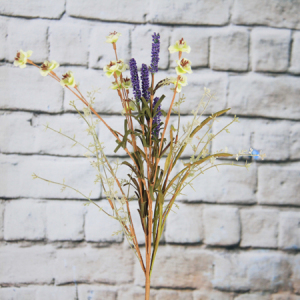 Artificial/Decorative Wild Flower  Rattlebush & Gypsophila &Lavender