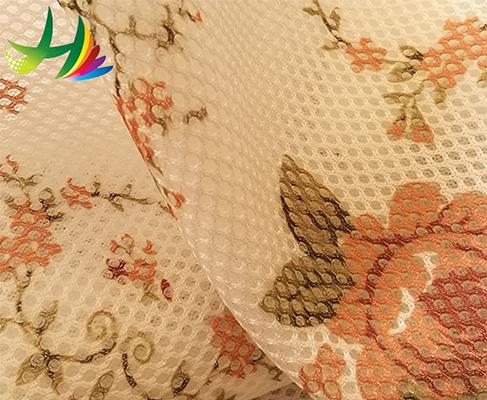 3d mesh cloth printed mesh fabric